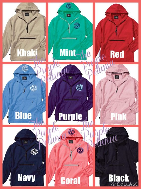 Rain Coat Jacket Pullover Windbreaker Womens Personalized Pack n ...