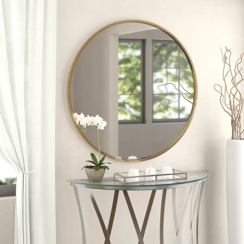 mahanoy modern contemporary accent mirror decor foyer on ideas for decorating entryway contemporary wall mirrors id=85736