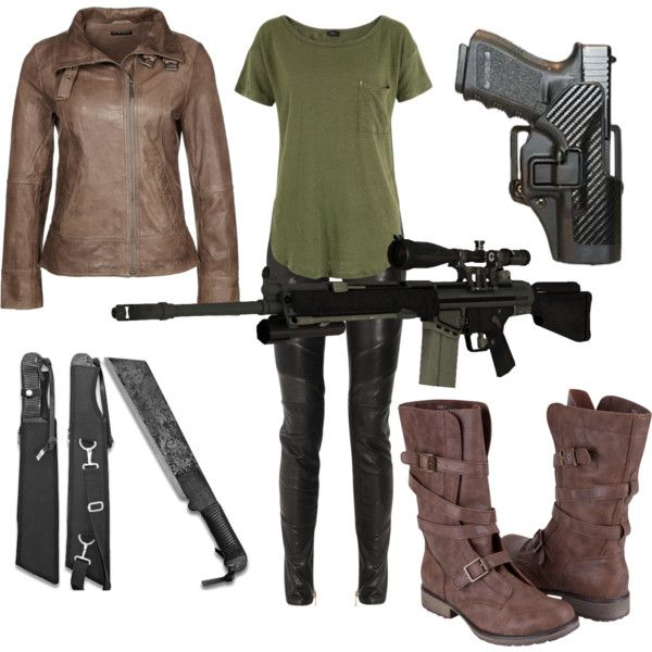 this will be my zombie apocalypse outfit.i have