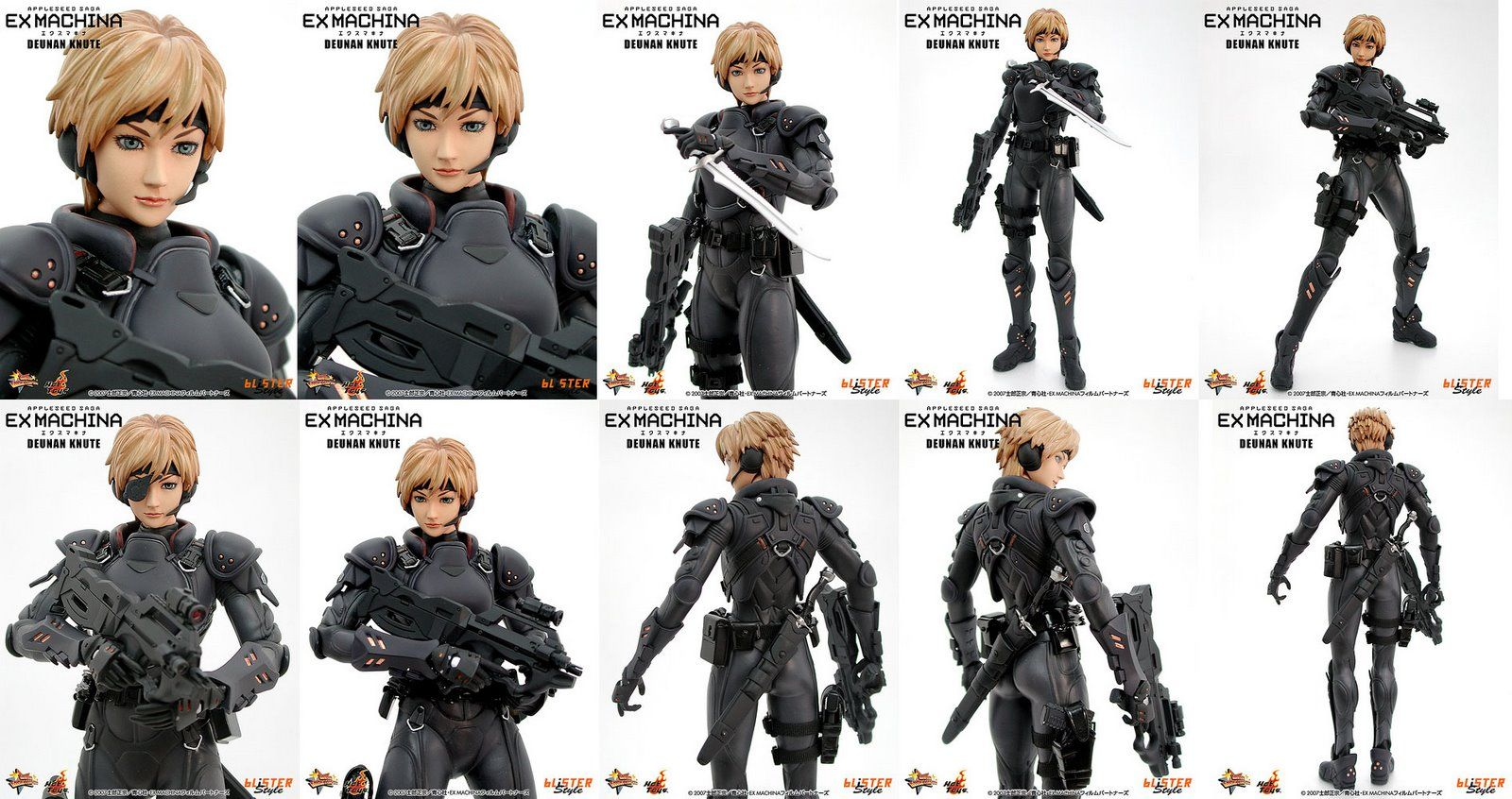 Appleseed Character Design : Appleseed ex machina briareos and deunan google search