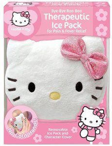 cute ice pack for stocking stuffer. Yeah, we get a lot of booboos!