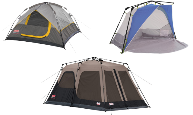 Coleman Instant Tents - Set up in 60 seconds or less.  sc 1 st  Pinterest & Coleman Instant Tents - Set up in 60 seconds or less. | Gifts to ...