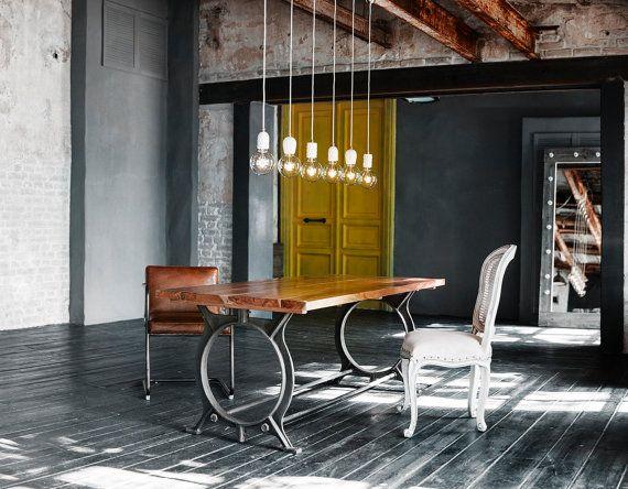 Concrete lamp | LATITUDE Beton Bolti Black | Apartment decor