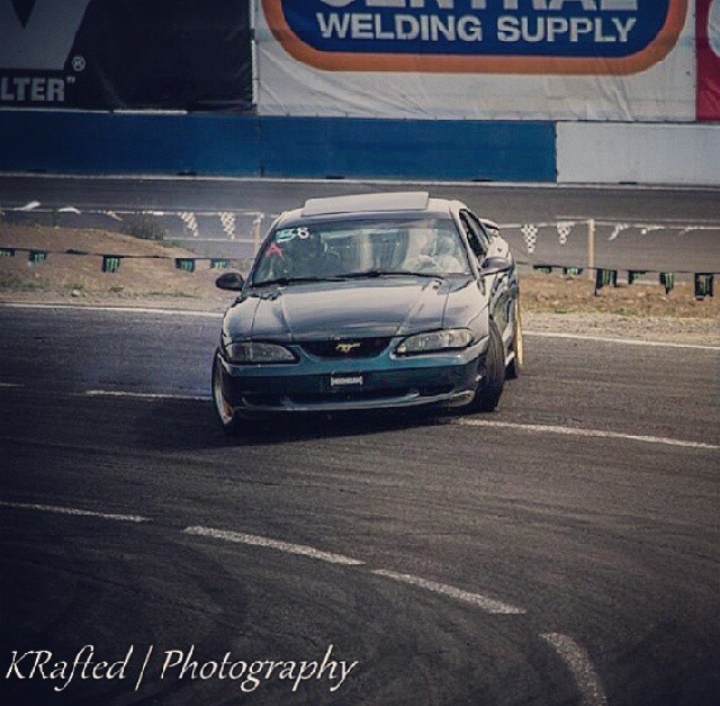 Sweet Drifting In An Sn95 Mustang Gt On Evergreen Speedway Owned By Rallimx On Ig Sn95 Mustang Mustang Mustang Gt