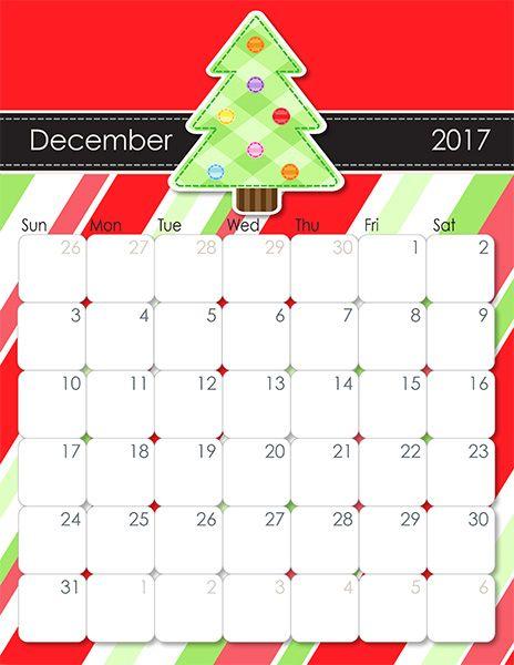 Whimsical 2017 Printable Calendar Whimsical, Printable calendars - daily calendar printable