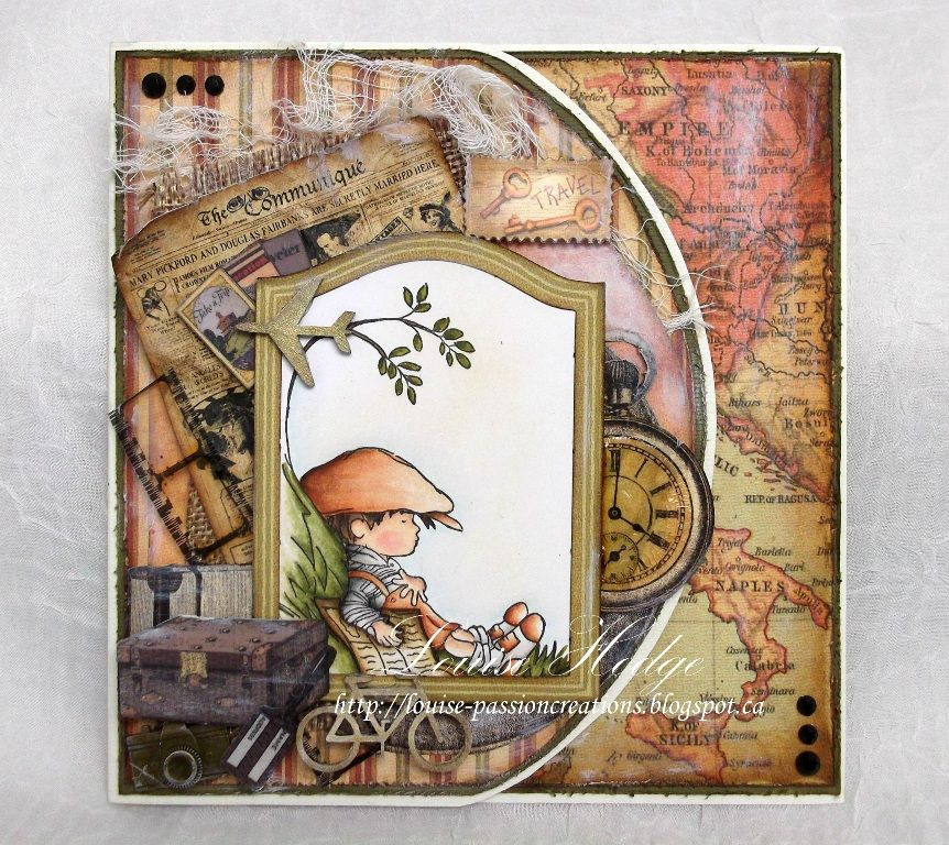 Passion Creations: Vacation card - LOTV Designer Collective