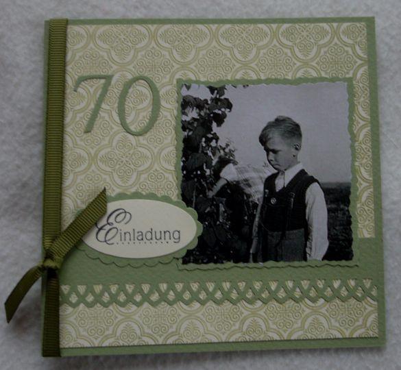 Einladung 70 geburtstag geburtstag pinterest happy for Einladung 70 geburtstag basteln