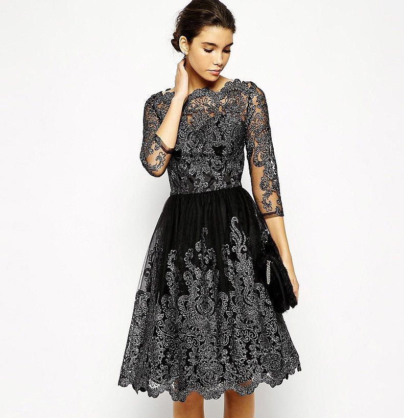 30 of the Best Little Black Party Dresses | Chi chi, Black party ...