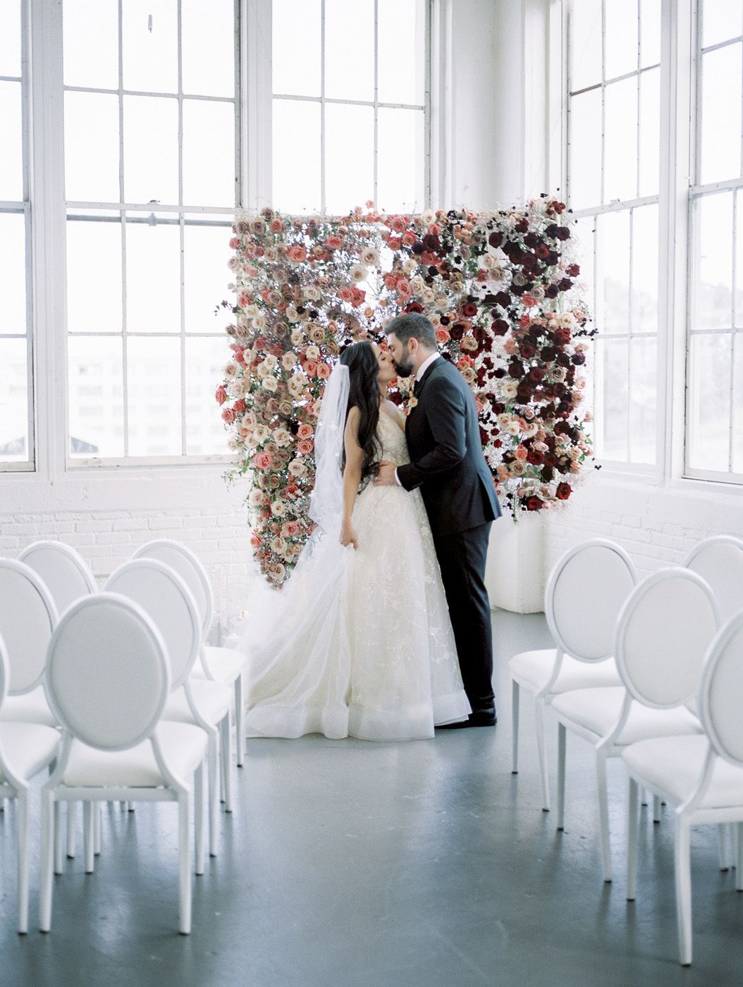 Ombre Wedding Inspiration Dripping In Heavenly Roses In 2020