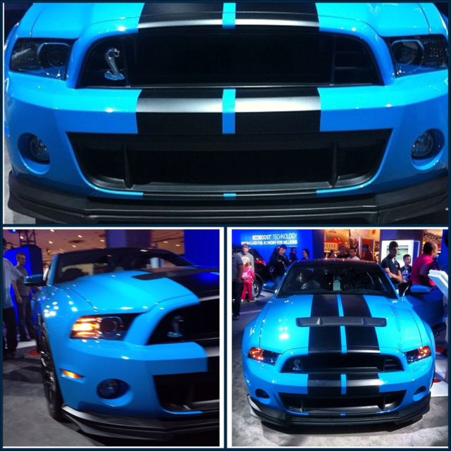 My dream car. Shelby gt 500, California special. I will have one exactly like this one, one day.