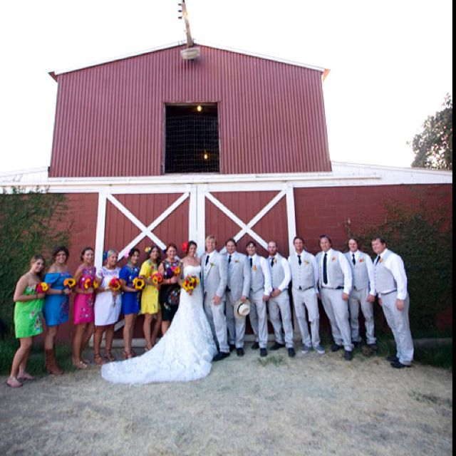 dont know if i will do bridesmaids, but thinking of having some of my close friends who come wear colorful dresses to take some pictures