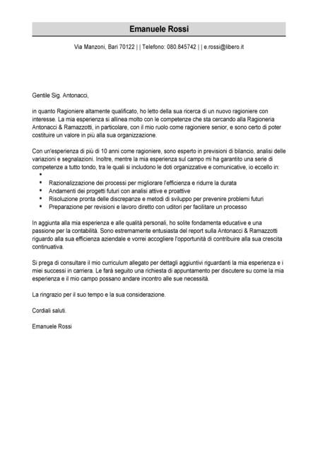 Esempio Lettera Di Presentazione Modello Lettera Di Presentazione Livecareer Lettera Di Presentazione Lettera Presentazione