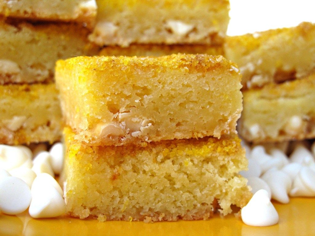 Chewy White Chocolate Lemon Bars creamy white chocolate and lemon zing combine into a soft chewy citrus bar This desertsafe recipe travels well for care packages or picin...
