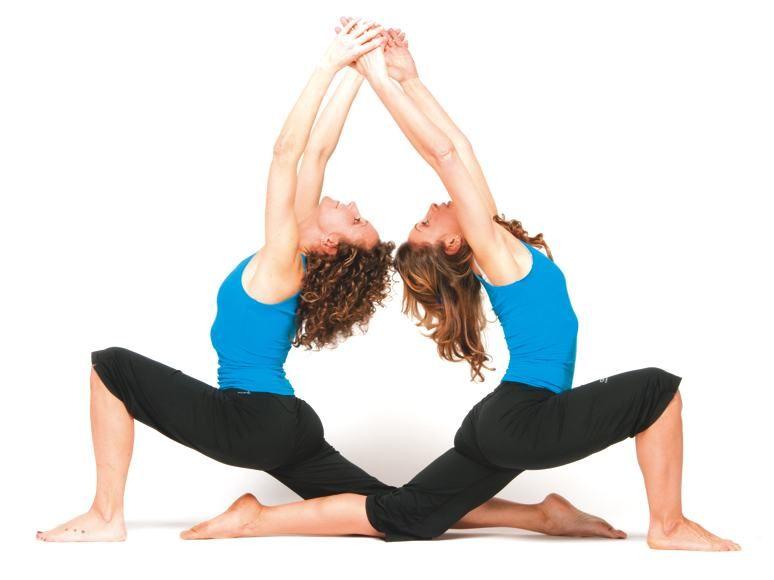 yoga a coppie yoga   the b plan pinterest yoga