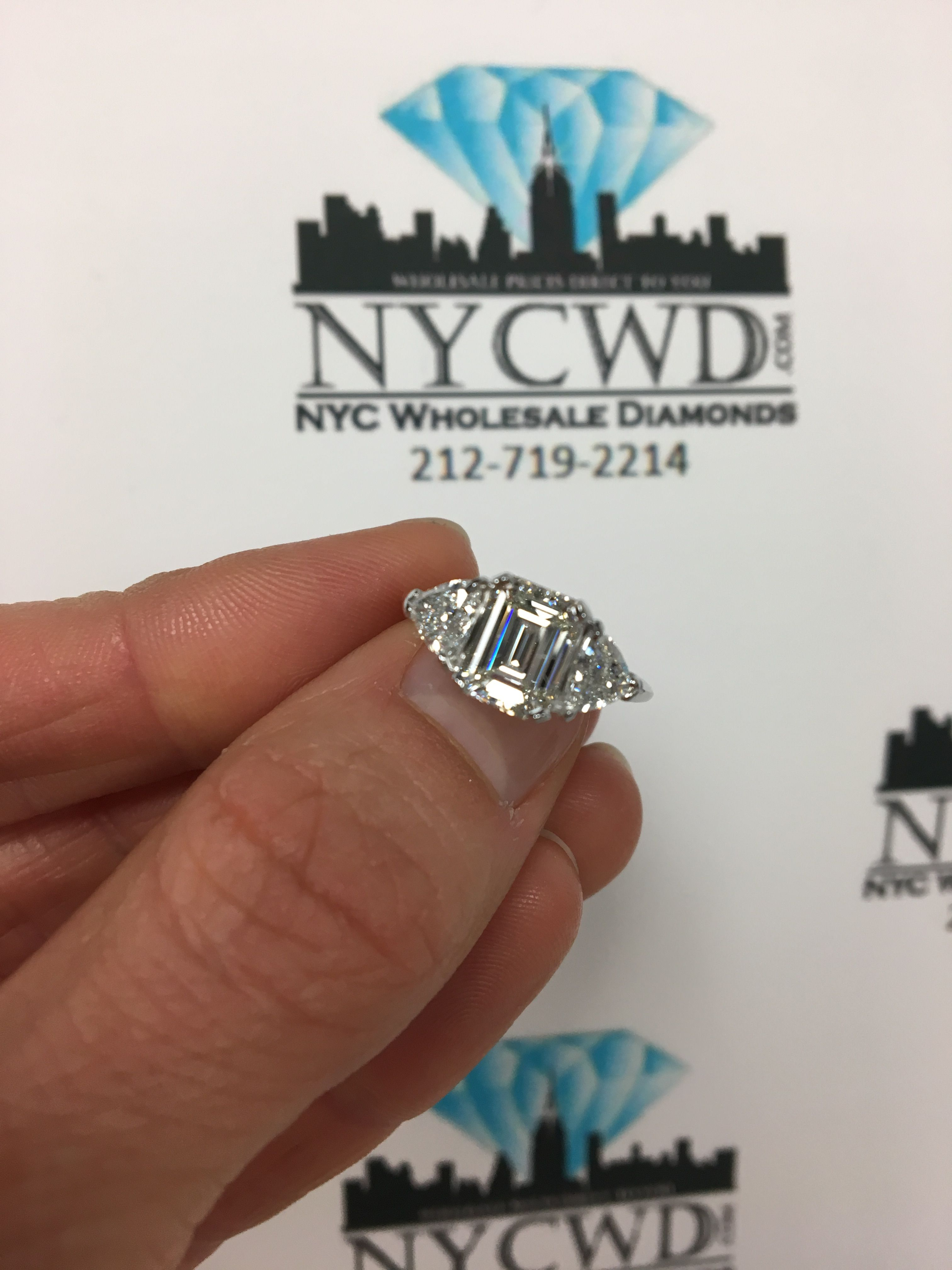 A Customer Wore Her Ring For Years But Never Loved The Princess Diamond That Was Originally There She Came To Us Wan Wholesale Diamonds Diamond Custom Rings