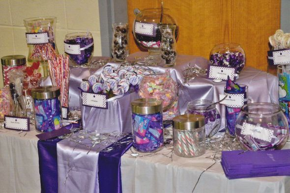Love The Idea Of A Candy Buffet For Wedding So Creative And My Diy