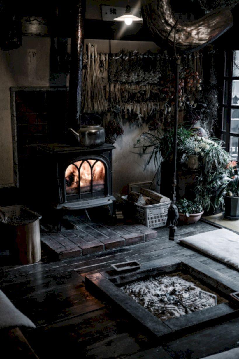 56 Stylish Dark Wood Floor Ideas For Your Living Room