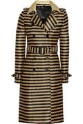 this trench deserves bridgette bardot hair, gold hoops and black heels