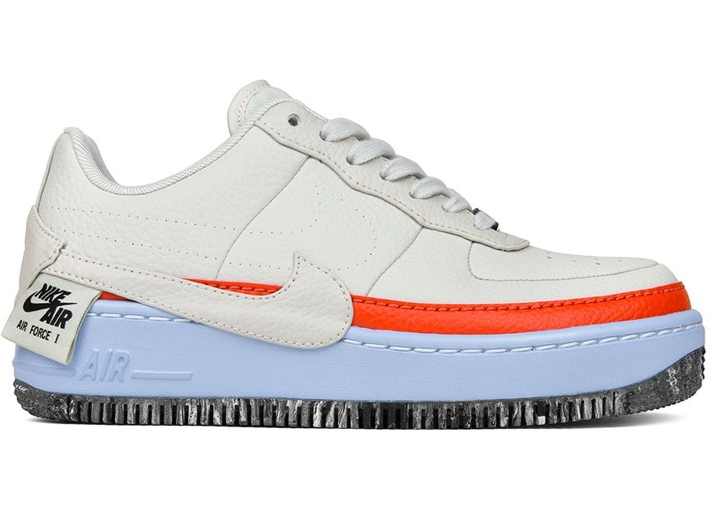 Check out the Air Force 1 Jester XX Light Bone Team Orange (W) available on  StockX 86b54e9d69a5