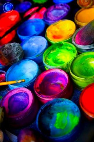 Download Paint Colors Baskets Iphone Wallpaper Mobile Wallpapers