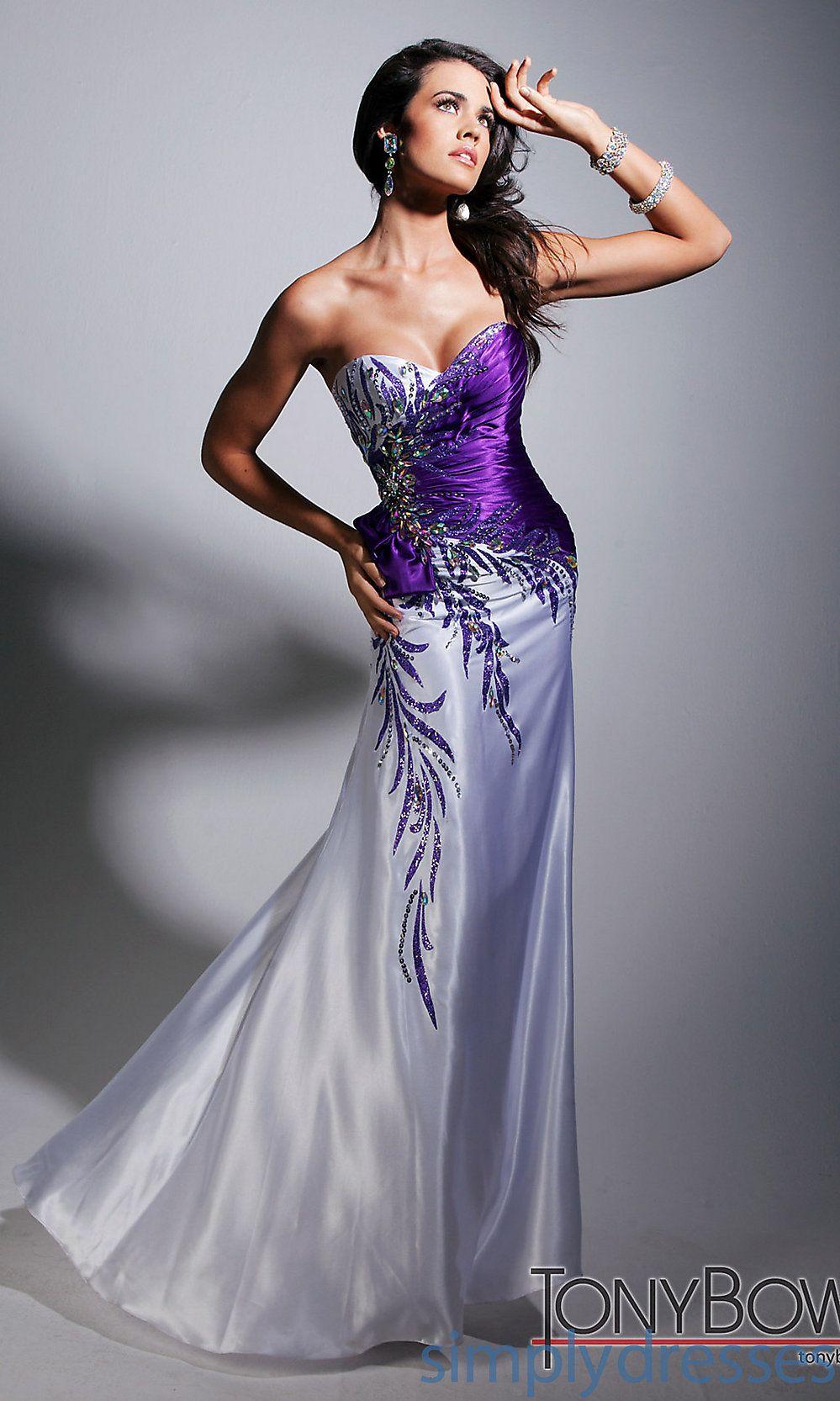 Mardi Gras Ball Dress