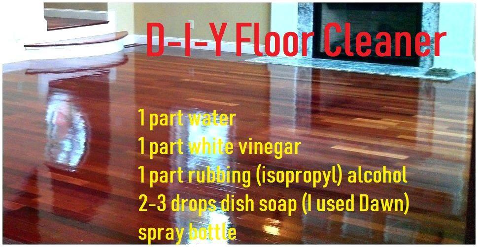 Homemade Laminate Floor Shiner, Will Rubbing Alcohol Damage Laminate Flooring