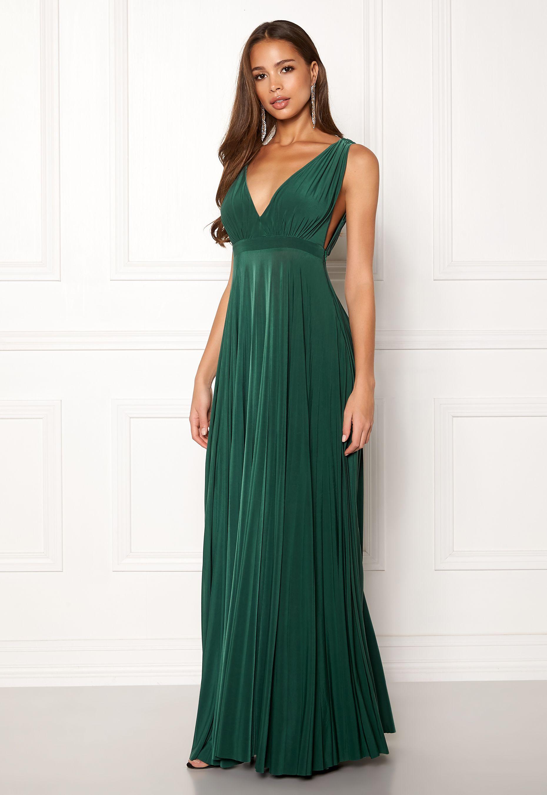 add3db7c Goddiva Pleated Oscar Maxi Dress | Jennys tärnor i 2019 | Dresses ...