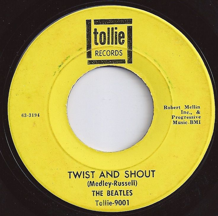 Beatle 45 Twist And Shout Twist And Shout Beatles 2 On