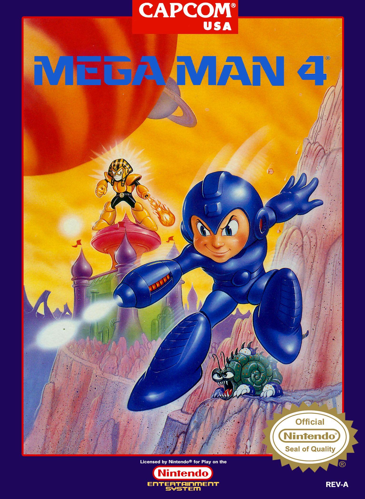 Mega Man 4. 1991. (With images) Mega man, Nes