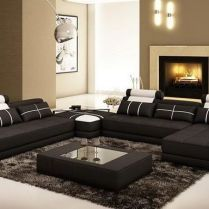 42+ Get The Scoop On Black Leather Sectional Living Room ...