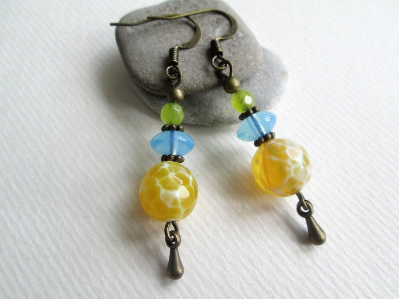 The 15 Best Yellow Gemstones Used in Jewelry (with ... |Light Yellow Gemstone Earrings