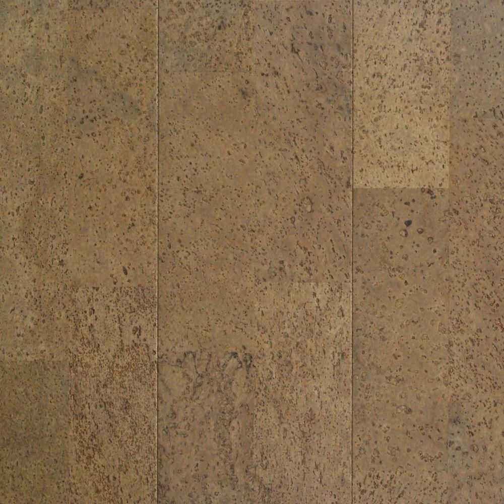 Take Home Sample Moonstone Cork Cork Flooring 5 in. x
