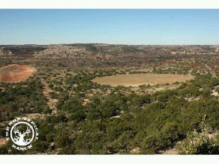 View from the top at The Non Typical Ranch at San Angelo Tx