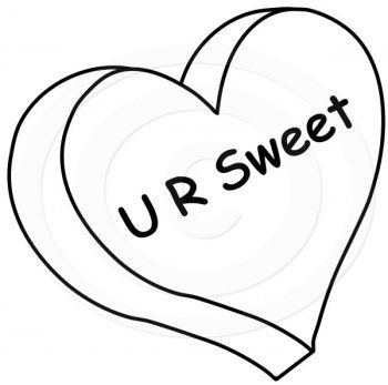 Valentines Day Heart Candy Coloring Pages Slccpe