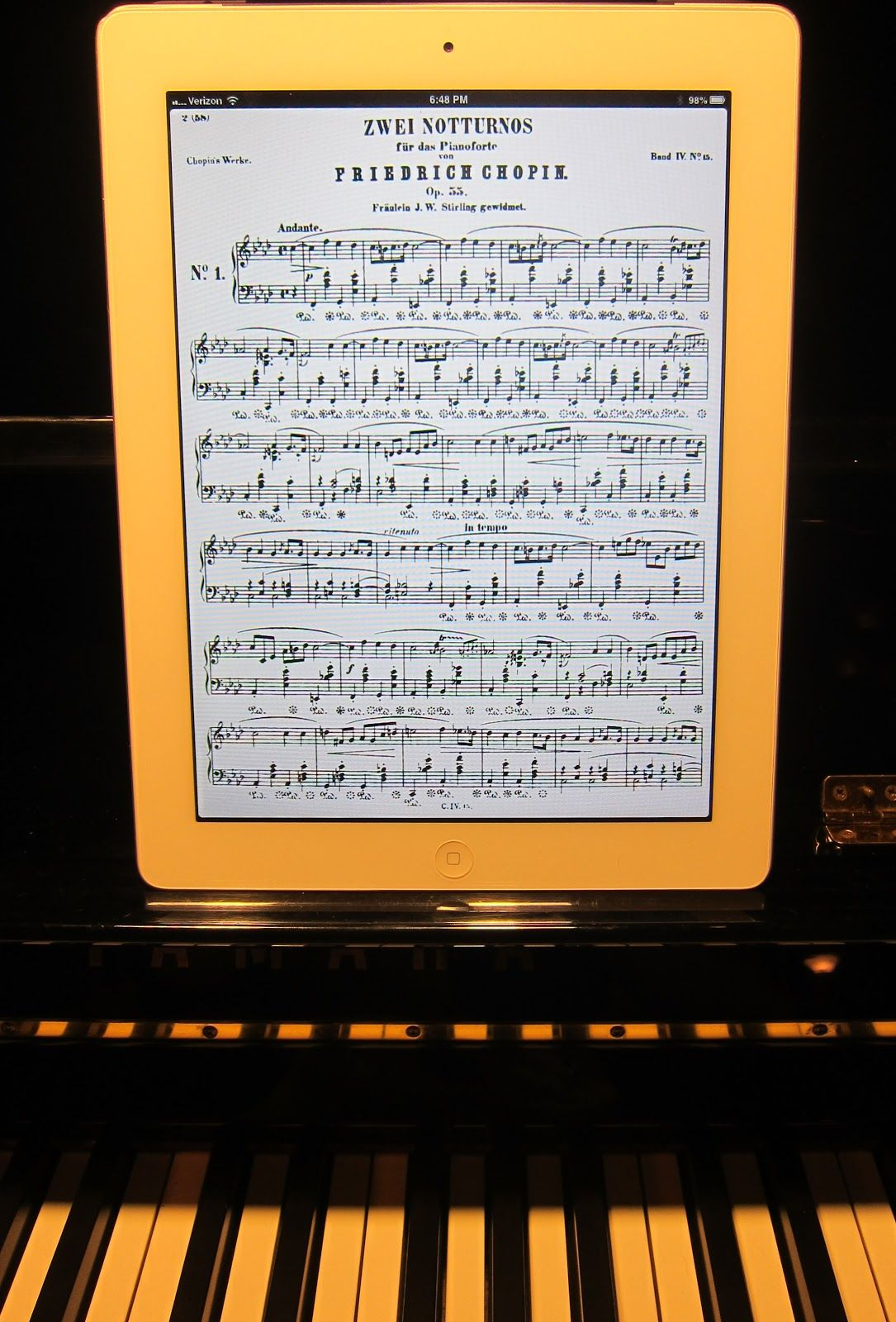 The Pajama Pedagogue Cool Music Apps For Ipad Forscore Music