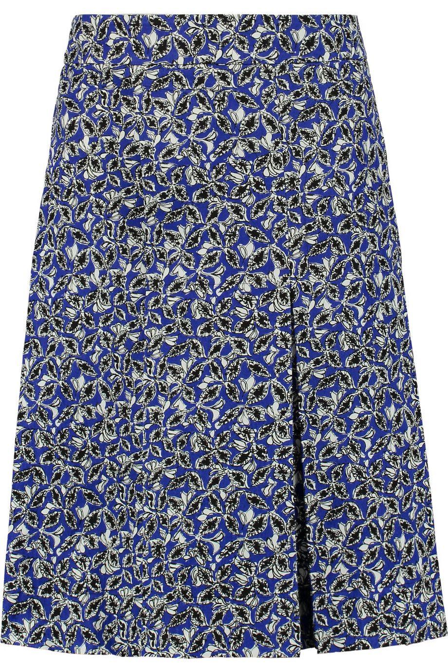 b74b2b4ee0a MARNI Printed Linen-Blend Skirt.  marni  cloth  skirt