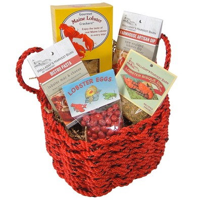Lobster Lover's Lobster Rope Gift Basket