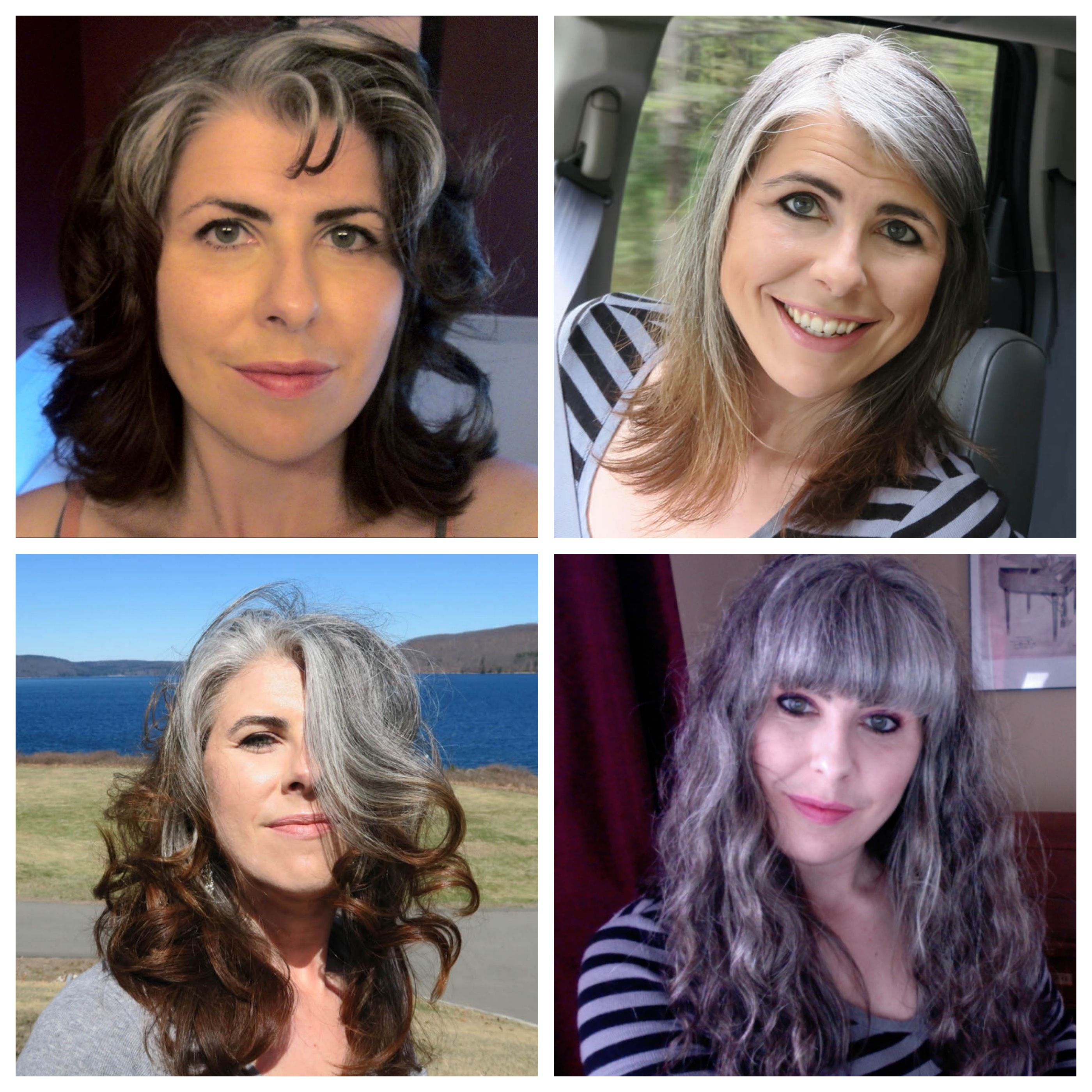 Pin by Shannon Green on My Transition to gray hair