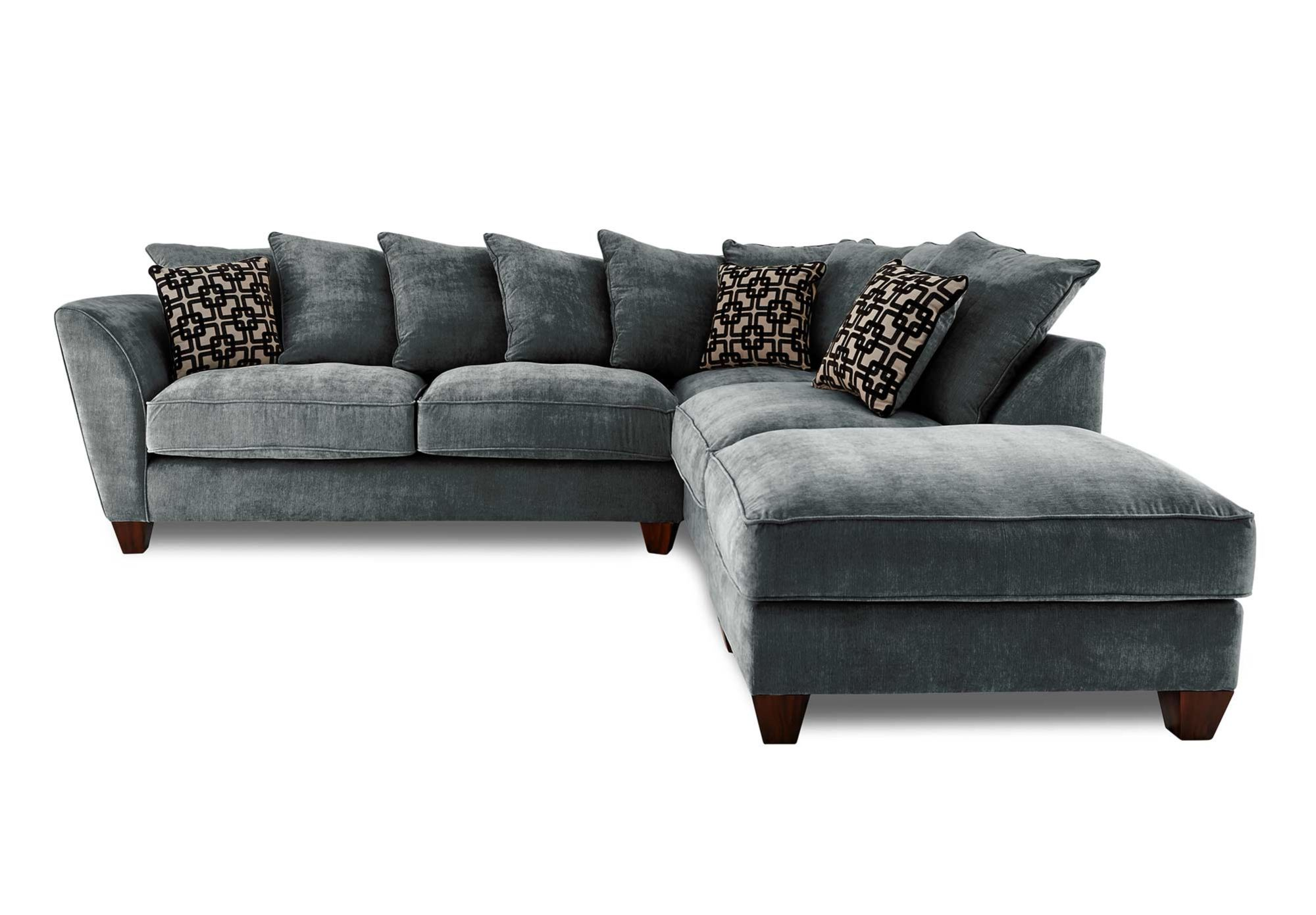 Cheap Sectional Sofas RHF Scatter Back Corner Sofa Tangier Gorgeous Living Room Furniture from Furniture Village