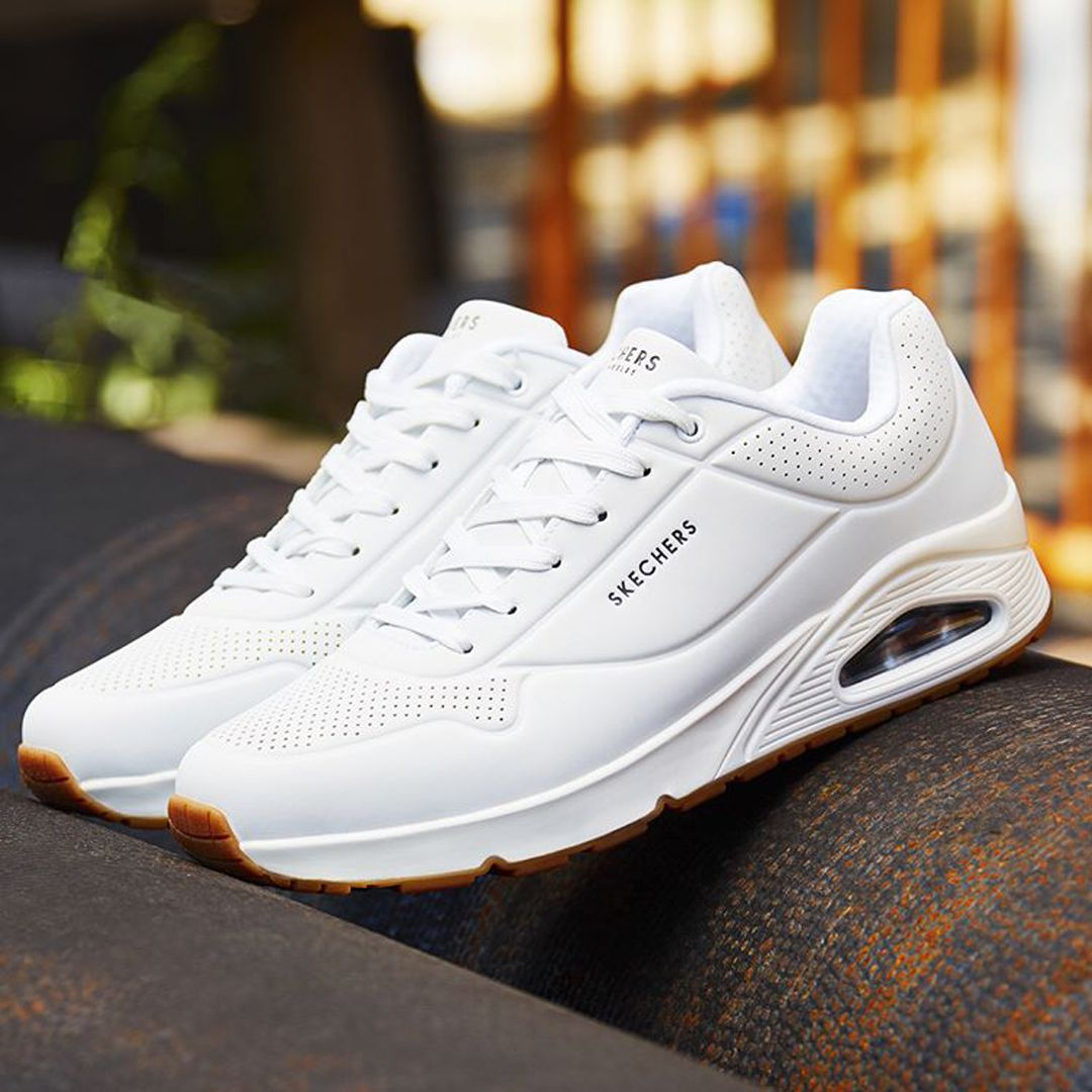 zapatos skechers sport blanca