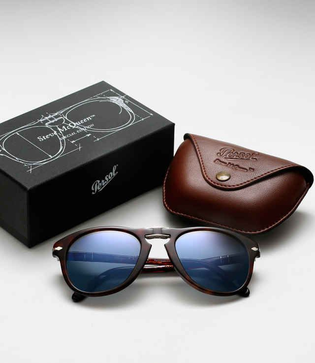 b19fd17944a Re-Issued Limited Edition Persol 714 Steve McQueen Sunglasses - Airows