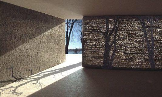 半透明のコンクリート  透明コンクリート、コンクリート、建築