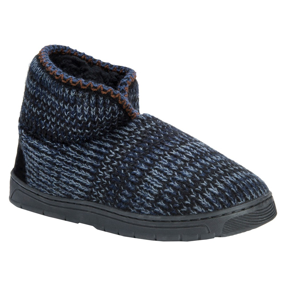 Men's Muk Luks Mark Bootie Slippers - Blue S, Size: Small