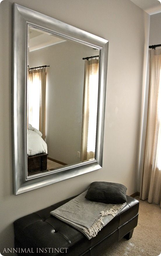 Silver Painted Mirror Knockoffdecor, Silver Paint For Plastic Mirror Frame