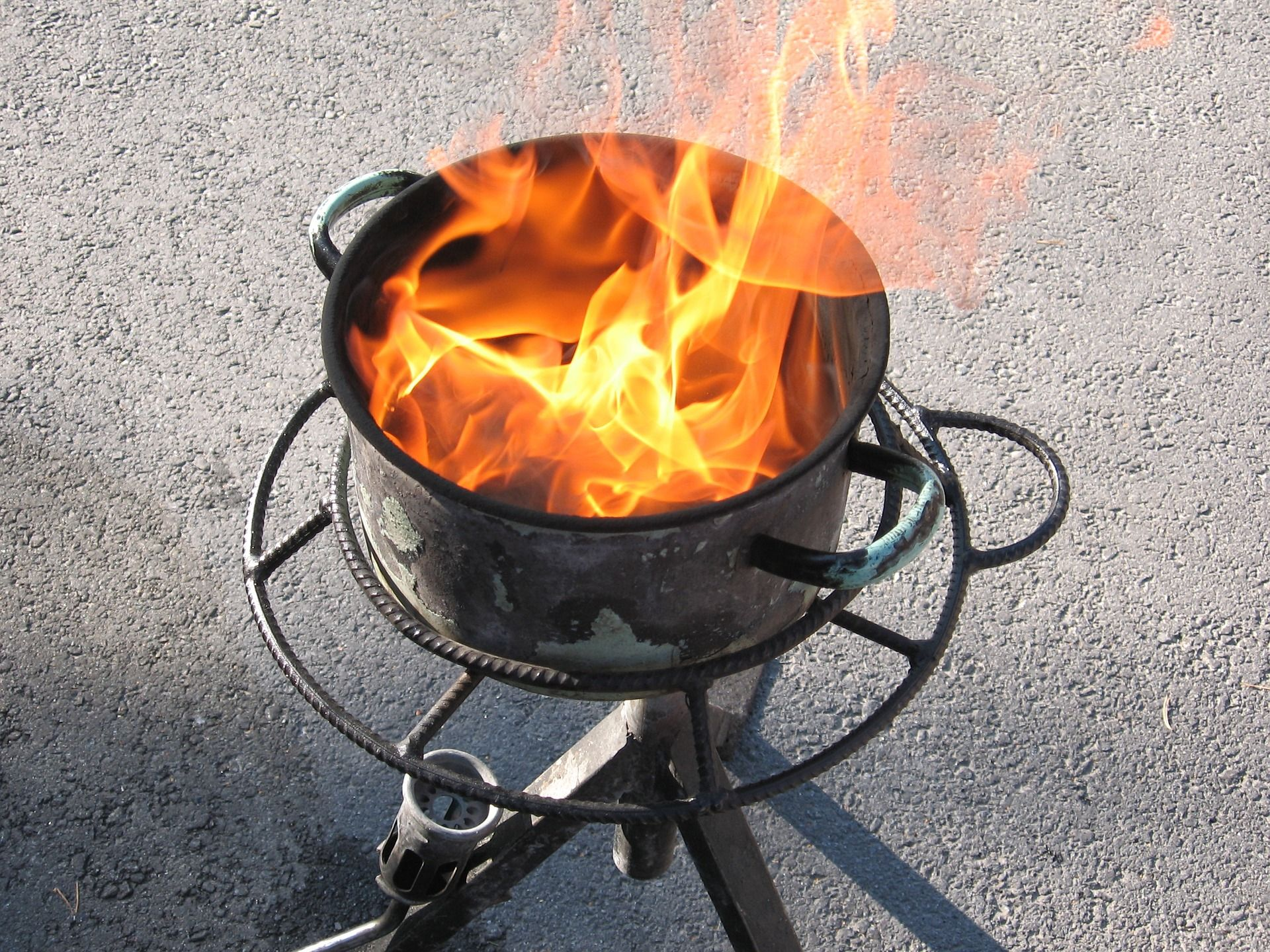 How To Prevent And Put Out A Grease Fire Fire Survival Survival Guide