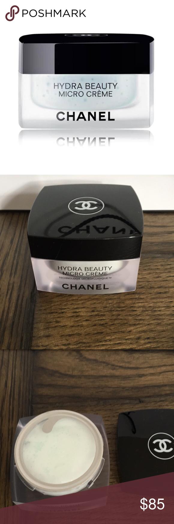 Chanel Hydra Beauty Micro Creme Brand New 100 Authentic Chanel Moisturizer Amazing Hydration Cream Chan Chanel Hydra Beauty Chanel Moisturizer Chanel Makeup