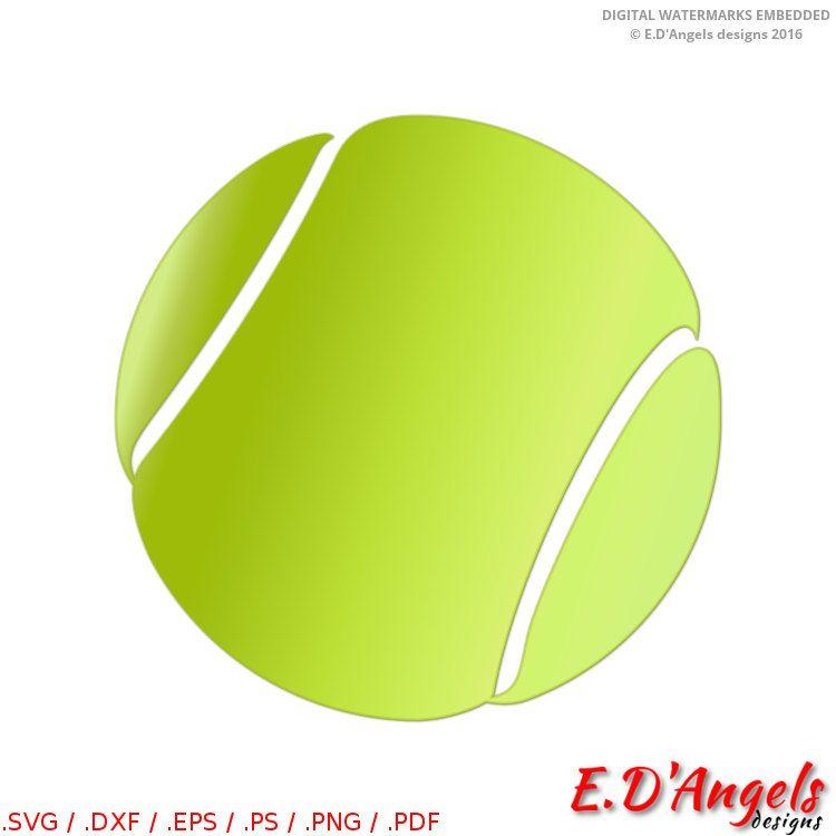 Tennis Ball Svg Tennis Ball Clip Art Silhouette Studio Files Sports Svg Sports Svg Silhouette Studio Files Tennis Crafts