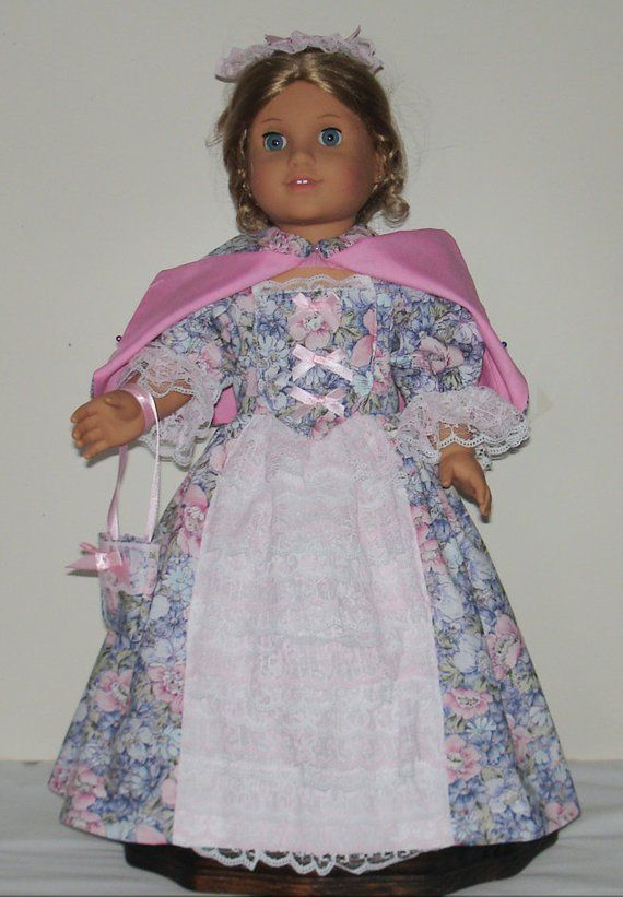 30a88571f56 Summer Tea or garden dress fits American Girl 18 in. dolls. Created ...