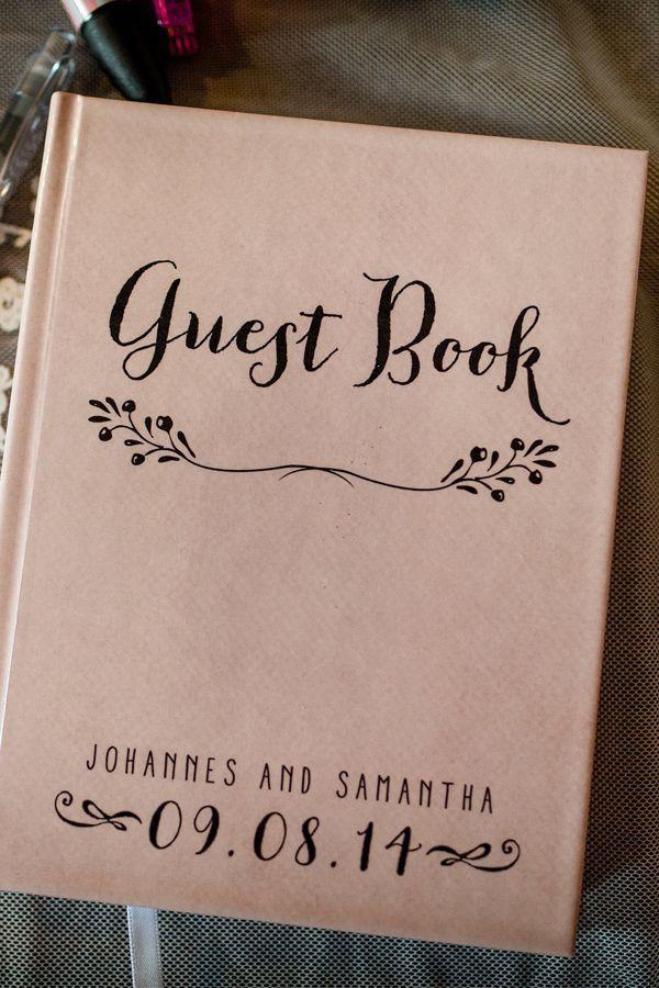 unique wedding guest book ideas