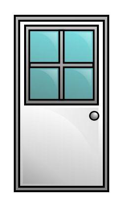 Drawing A Cartoon Door Drawings Cartoon Doors